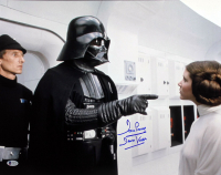"""David Prowse Signed """"Star Wars: A New Hope"""" 16x20 Photo Inscribed """"Darth Vader"""" (Beckett COA) at PristineAuction.com"""
