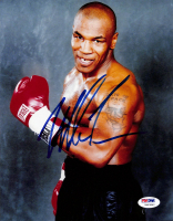 Mike Tyson Signed 8x10 Photo (PSA COA) at PristineAuction.com