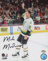 Mike Modano Signed North Stars 8x10 Photo (Schwartz COA) at PristineAuction.com