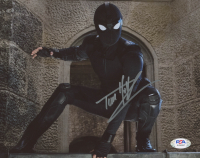 "Tom Holland Signed ""Spider-Man: Far From Home"" 8x10 Photo (PSA Hologram) at PristineAuction.com"