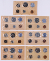 Lot of (7) United States Mint Proof Sets with 1958, 1960, (2) 1961, 1962, 1963, & 1964 at PristineAuction.com