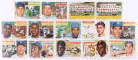 1956 Topps Complete Set of (340) Baseball Cards with #5 Williams, #30 Robinson, #31 Aaron, #33 Clemente, #79 Koufax & #135 Mantle at PristineAuction.com