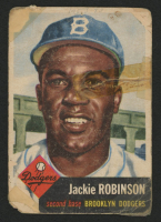 Jackie Robinson 1953 Topps #1 DP at PristineAuction.com