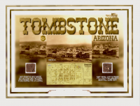 Tombstone Arizona 6x8 Photo with Dirt Soil from O.K. Corral (The Zone COA) at PristineAuction.com