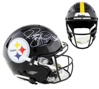 Jerome Bettis Signed Steelers Full-Size Authentic On-Field SpeedFlex Helmet (Radtke COA) at PristineAuction.com