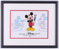 "Walt Disney's ""Mickey Mouse"" 14x17 Custom Framed Animation Cel Display at PristineAuction.com"