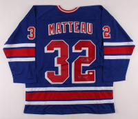 """Stephane Matteau Signed Jersey Inscribed """"94 CUP"""" (JSA COA) at PristineAuction.com"""
