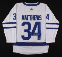 Auston Matthews Signed Maple Leafs Jersey (Beckett COA) at PristineAuction.com