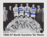 Lennie Rosenbluth, Joe Quigg & Pete Brennan Signed 1956-1957 North Carolina Tar Heels 8x10 Photo (Legends COA) at PristineAuction.com