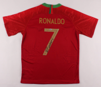 Cristiano Ronaldo Signed Portugal Jersey (Beckett COA) at PristineAuction.com
