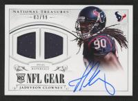 Jadeveon Clowney 2014 Panini National Treasures Rookie NFL Gear Dual Materials #RGSJC at PristineAuction.com