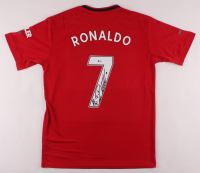 Cristiano Ronaldo Signed Manchester United Jersey (Beckett COA) at PristineAuction.com