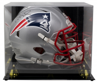 Tom Brady Signed Patriots Full-Size Authentic On-Field Speed Helmet With Display Case (TriStar Hologram) at PristineAuction.com