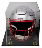 Tom Brady Signed Patriots Full-Size Authentic On-Field SpeedFlex Helmet With Display Case (TriStar Hologram) at PristineAuction.com