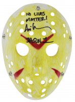 "Ari Lehman Signed ""Friday the 13th"" Mask Inscribed ""No Lives Matter!"" & ""Jason 1"" (Beckett COA) at PristineAuction.com"