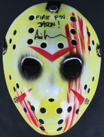 "Ari Lehman Signed ""Friday the 13th"" Mask Inscribed ""First F'n Jason!"" (Beckett COA) at PristineAuction.com"