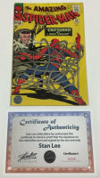 "Stan Lee Signed 1965 ""The Amazing Spider-Man"" #25 Marvel Comic Book (Lee COA) at PristineAuction.com"