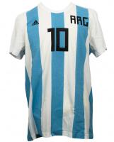 Lionel Messi Signed Argentina Adidas Jersey (Messi COA) at PristineAuction.com