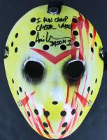 "Ari Lehman Signed ""Friday the 13th"" Mask Inscribed ""I Run Camp Crystal Lake!"" & ""Jason 1"" (Beckett COA) at PristineAuction.com"