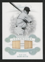 Babe Ruth 2019 Panini Flawless Legendary Dual Materials #1 at PristineAuction.com