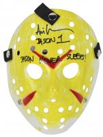 "Ari Lehman Signed ""Friday the 13th"" Mask Inscribed ""Jason Never Sleeps!"" & ""Jason 1"" (Beckett COA) at PristineAuction.com"
