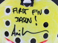 """Ari Lehman Signed """"Friday the 13th"""" Mask Inscribed """"First F'n Jason!"""" (Beckett COA) at PristineAuction.com"""