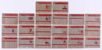 1957 Topps Complete Set of (407) Baseball Cards with #1 Ted Williams, #95 Mickey Mantle, #2 Yogi Berra, #76 Roberto Clemente, #328 Brooks Robinson RC, #55 Ernie Banks, #18 Don Drysdale RC at PristineAuction.com