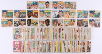 1956 Topps Complete Set of (340) Baseball Cards with #150 Duke Snider, #164 Harmon Killebrew, #20 Al Kaline, #15 Ernie Banks, #110A Yogi Berra,  #135 Mickey Mantle, #79 Sandy Koufax at PristineAuction.com