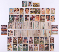1957 Topps Complete Set of (407) Baseball Cards with #1 Williams, #2 Berra, #18 Drysdale RC,  #55 Banks, #76 Clemente, #95 Mantle & #328 Robinson RC at PristineAuction.com