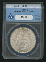 1888 Morgan Silver Dollar (ANACS MS 62) at PristineAuction.com