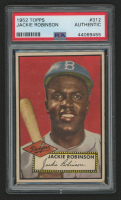 Jackie Robinson 1952 Topps #312 (PSA Authentic) at PristineAuction.com