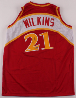 Dominique Wilkins Signed Jersey (JSA COA, AAA COA & Wilkins Hologram) at PristineAuction.com