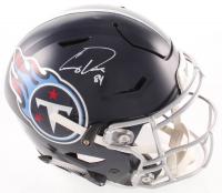 Corey Davis Signed Titans Full-Size Authentic On-Field SpeedFlex Helmet (Beckett COA) at PristineAuction.com