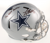 "Leighton Vander Esch Signed Cowboys Full-Size Speed Helmet Inscribed ""The Wolf Hunter"" (Beckett COA) at PristineAuction.com"