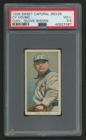 Cy Young 1909-11 T206 #525 / Glove Shows - Sweet Caporal (PSA 3.5) at PristineAuction.com
