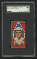 Tris Speaker 1911 T205 Gold Border #179 - Hassan Cigarettes (SGC 5) at PristineAuction.com