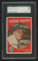 Mickey Mantle 1959 Topps #10 (SGC 2) at PristineAuction.com