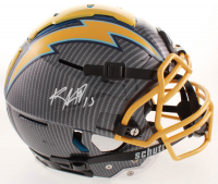Keenan Allen Signed Chargers Full-Size Authentic On-Field F7 Hydro-Dipped Helmet (Beckett COA) at PristineAuction.com