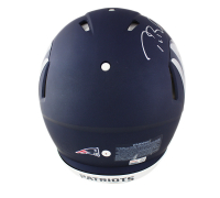 Tom Brady Signed Patriots Full-Size Authentic On-Field AMP Alternate Speed Helmet (TriStar Hologram) at PristineAuction.com