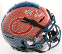 "Brian Urlacher Signed Bears Full-Size Authentic On-Field F7 Hydro-Dipped Helmet Inscribed ""HOF 2018"" (Beckett COA) at PristineAuction.com"