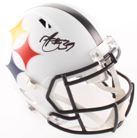 Minkah Fitzpatrick Signed Steelers Full-Size AMP Alternate Speed Helmet (Beckett COA) at PristineAuction.com