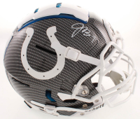 Jacoby Brissett Signed Colts Full-Size Authentic On-Field F7 Hydro-Dipped Helmet (JSA COA) at PristineAuction.com