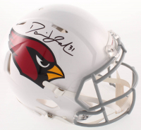 David Johnson Signed Cardinals Full-Size Authentic On-Field Speed Helmet (Beckett Hologram) at PristineAuction.com