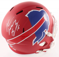 "John ""Smokey"" Brown Signed Bills Full-Size AMP Alternate Speed Helmet (JSA COA) at PristineAuction.com"