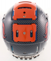 Clinton Portis Signed Broncos Full-Size Authentic On-Field F7 Hydro-Dipped Helmet (Beckett COA) at PristineAuction.com