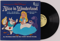 "Walt Disney's ""Alice in Wonderland"" Vinyl Record Album at PristineAuction.com"