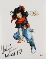 "Chuck Huber Signed ""Dragon Ball Z"" 11x14 Photo Inscribed ""Android 17"" (Beckett COA) at PristineAuction.com"
