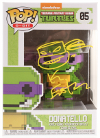 Kevin Eastman Signed TMNT Donatello #05 8-Bit Funko POP! Vinyl Figure with Hand-Drawn Sketch (PA COA) at PristineAuction.com