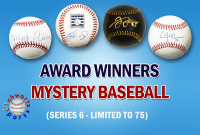 Schwartz Sports Baseball Award Winner Baseball Mystery Box - Series 6 (Limited to 75) at PristineAuction.com