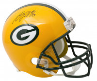 Davante Adams Signed Packers Full-Size Helmet (JSA COA) at PristineAuction.com